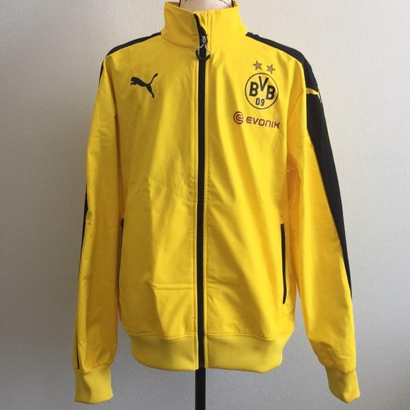 Puma Jackets Coats Puma Borussia Dortmund Bvb Stadium Jacket Poshmark